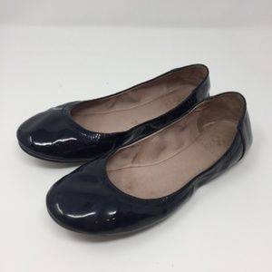 Vince Camuto Blue Patent Leather Ballet Flats 6.5